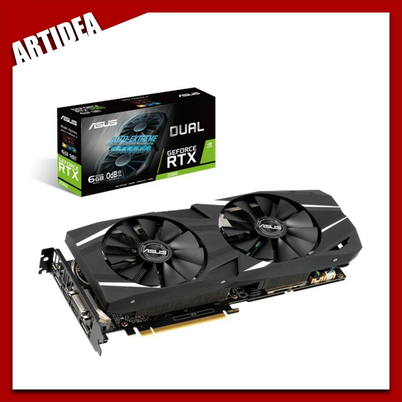 ^ ASUS Dual GeForce RTX 2060 6GB GDDR6   DUAL-RTX2060-6G   ARTIDEA