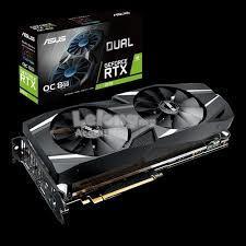 ASUS Dual GeForce RTX 2070 OC edition 8GB GDDR6