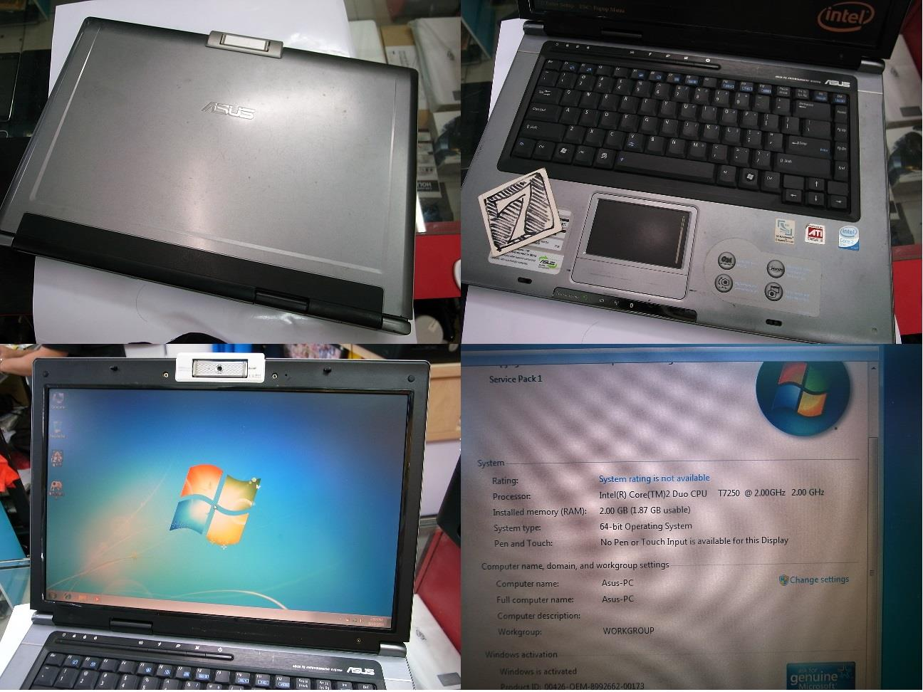 Asus F5RL C2D 2.53GHz Laptop Notebook Rm550