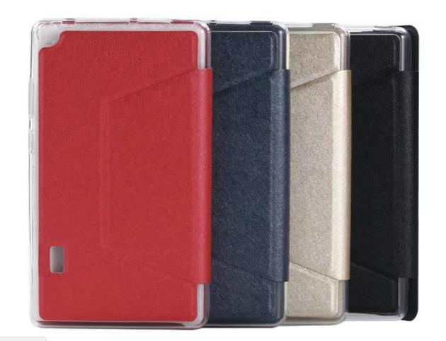 ASUS FonPad 7 ME175 TPU Holster PU Leather Case Flip Cover