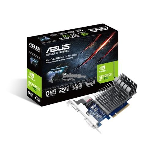 ASUS GEFORCE 710-2-SL-BRK DDR3 2GB PCIE