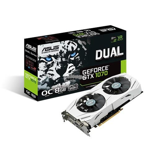 ASUS GEFORCE GTX 1070 DUAL 8GB OC