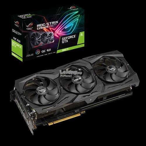 ASUS GTX1660TI STRIX 6GB GDDR6 192BIT (ROG-STRIX-GTX1660TI-O6G-GAMING)