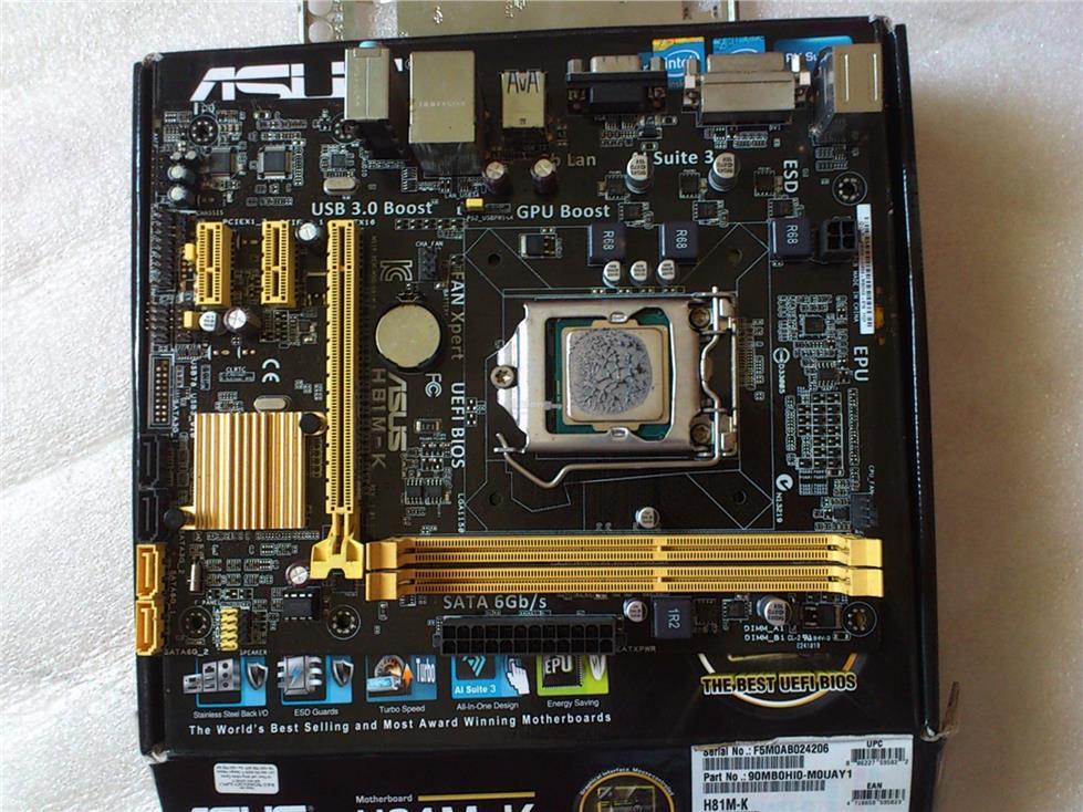 Memory Ram 4 Asus Motherboard Desktop H81M-C H81M-E H81M-K New 2x Lot