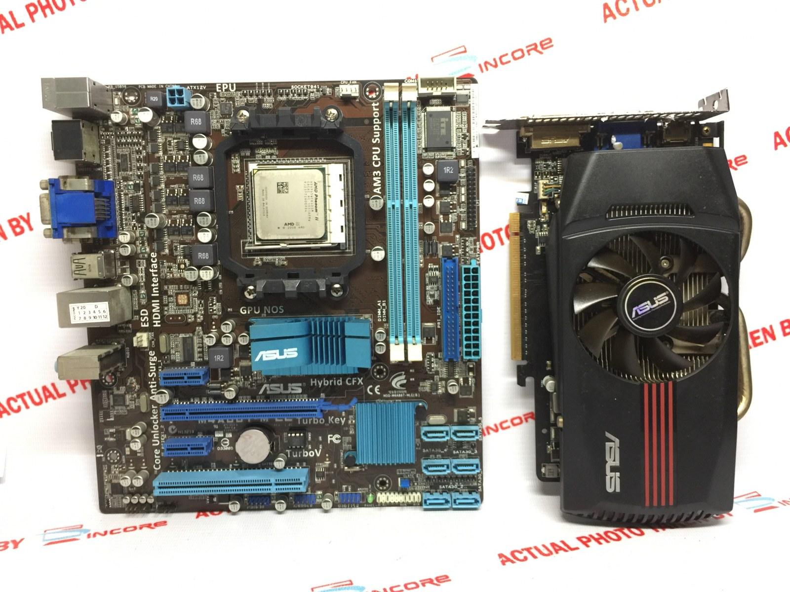 Asus M4A88T-M LE AMD VGA 64 BIT