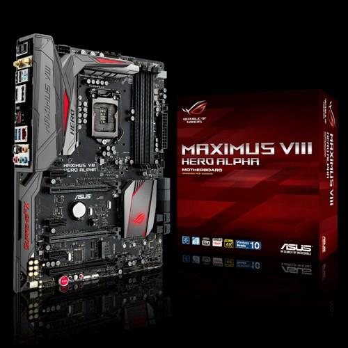 ASUS MAXIMUS VIII HERO ALPHA LGA 1151 ASUS ROG Gaming Motherboard