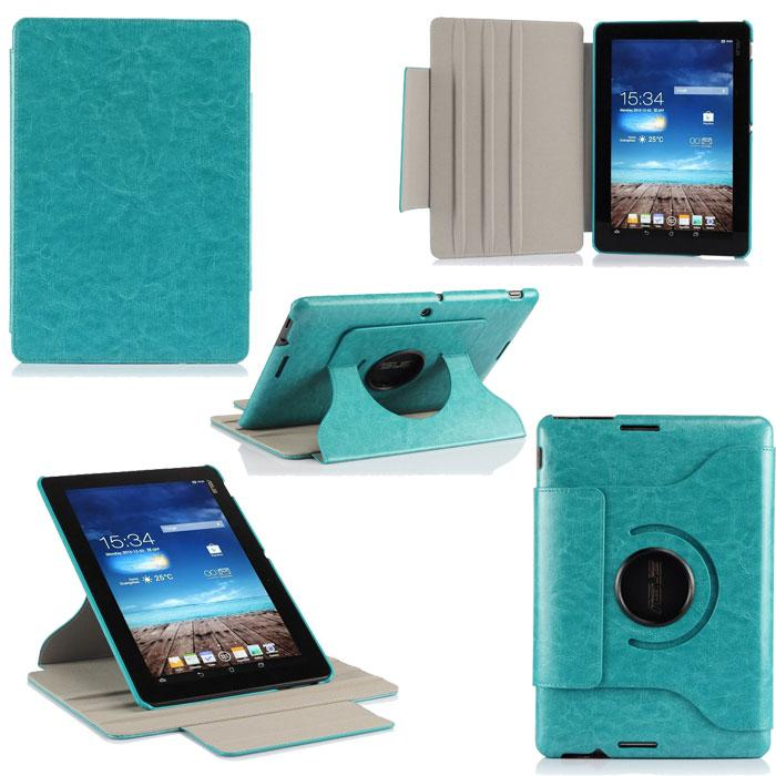 ASUS MeMO Pad 10 ME102 ME102A 360 degree rotary Leather Case Cover