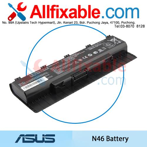 Asus N46 R401VB R401VJ R401VM R401VZ R501D R501D R501DP Series Battery
