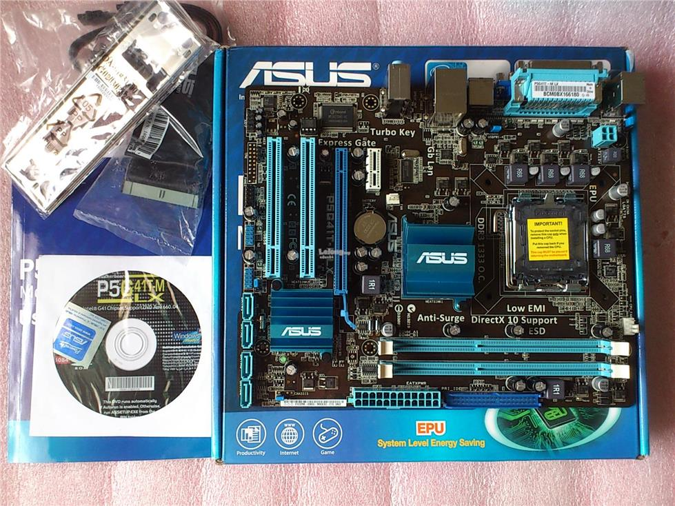 DRIVER FOR ASUS P5G41-M PC PROBEII