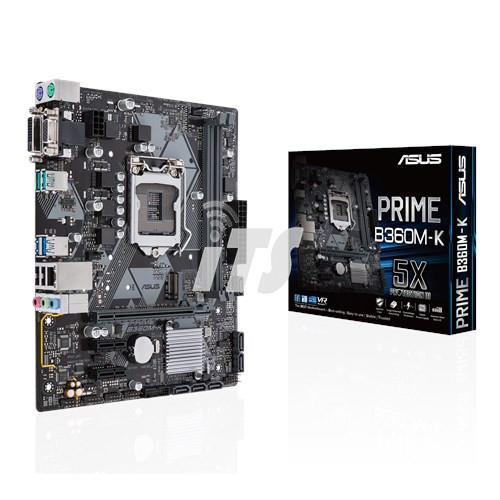 Asus PRIME B360M-K LGA1151 Mainboard - Coffee Lake CPU Supported