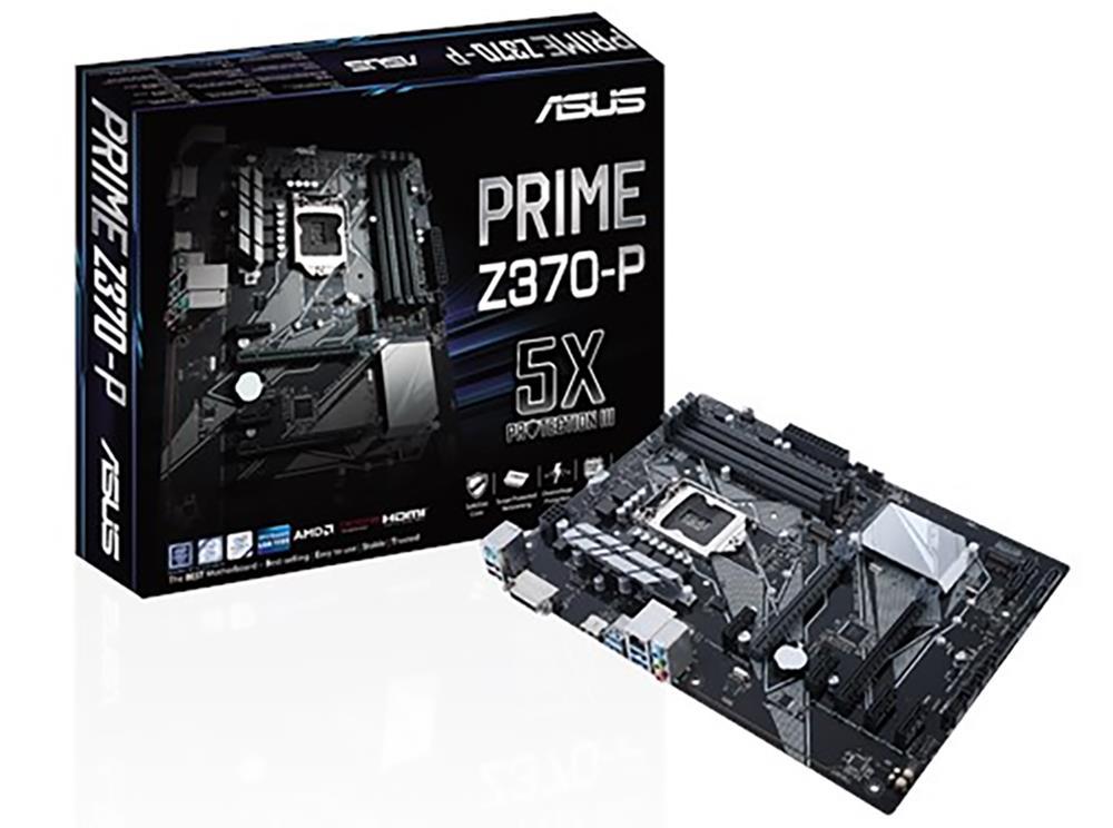 Asus Prime Z370-P LGA1151 ATX Motherboard