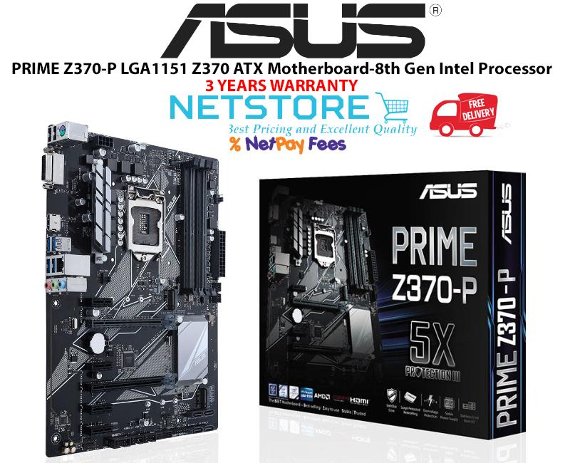 Best Z370 Atx Motherboard 2020 ASUS PRIME Z370 P LGA1151 Z370 ATX M (end 4/28/2020 2:15 PM)