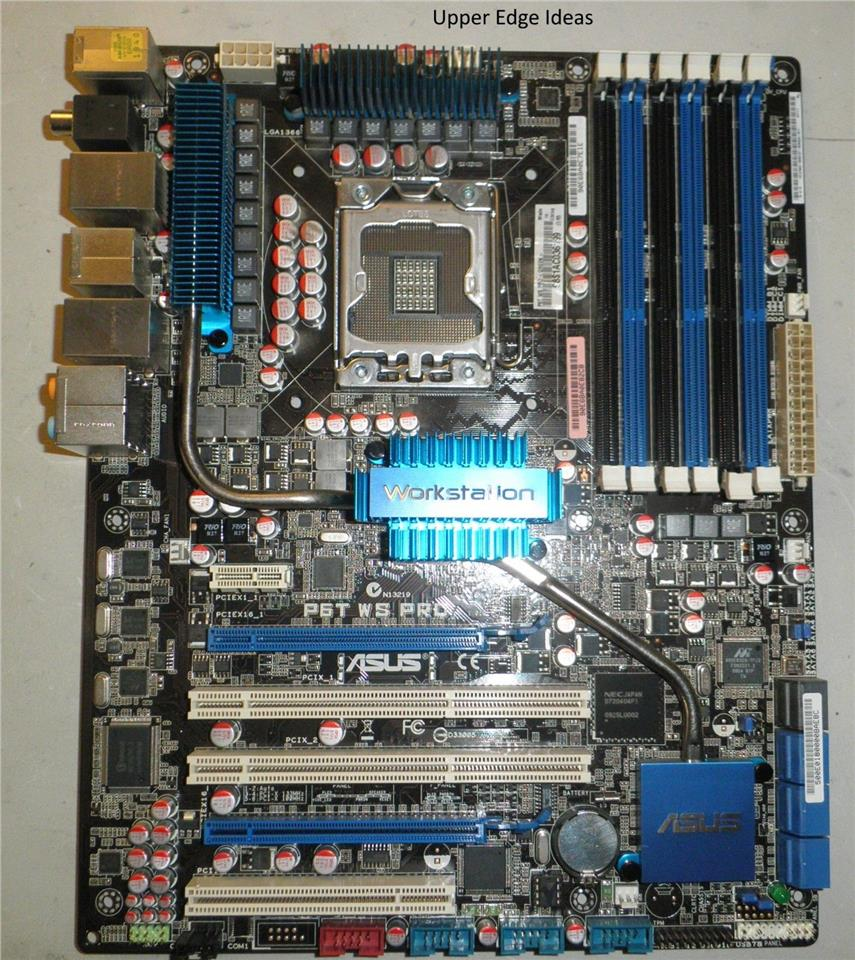 ASUS-Pro-Workstation-X58-Intel-Socket-LGA-1366-ATX-Motherboard P6T WS