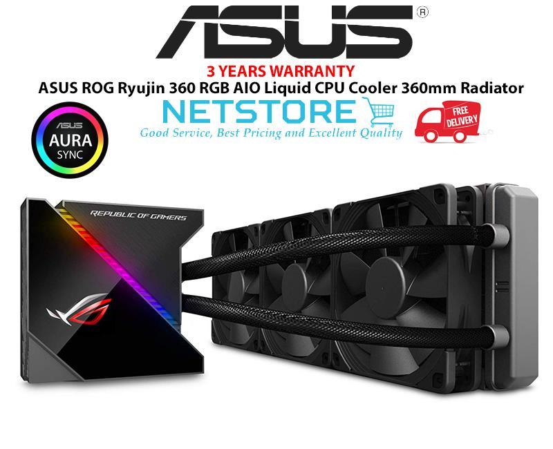 Best Aio Cooler 2020 ASUS ROG Ryujin 360 RGB AIO Liquid (end 4/18/2020 10:15 AM)