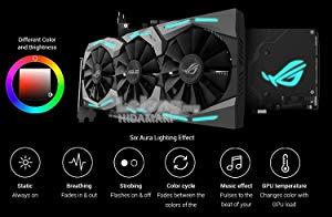ASUS ROG STRIX GEFORCE GTX 1070 OC 8GB GDDR5 GAMING GRAPHIC CARD ( STR
