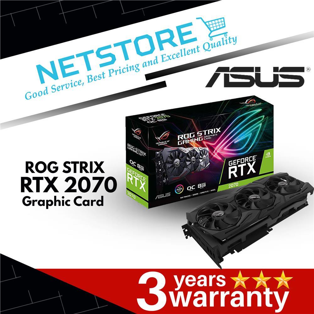 ASUS ROG STRIX RTX 2070 GDDR6 GPU - ROG-STRIX-RTX2070-O8G-GAMING
