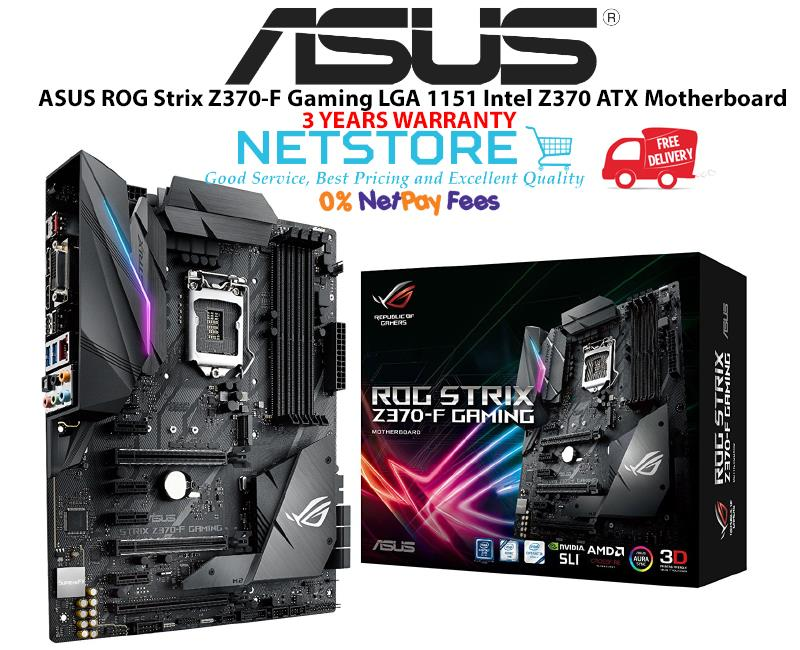 ASUS ROG STRIX Z370-F WINDOWS DRIVER DOWNLOAD