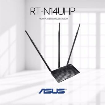 ASUS RT-N14UHP WIRELESS N300 HIGH POWER 3G ROUTER W/3X9DBI ANTENNA