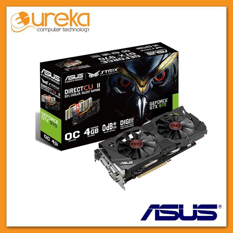 Asus STRIX-GTX970-OC-4GD5 DDR5 4GB 256Bit Graphic Card