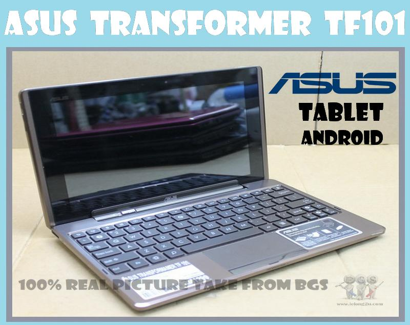 ASUS  TRANSFORMER TF101 android pad,16GB,TOUCH SCREEN,DOCKING