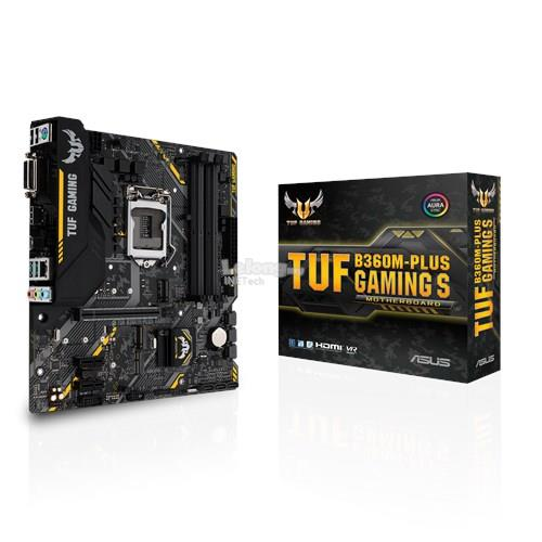 ASUS TUF B360M-PLUS GAMING S SOCKET 1151 MAINBOARD