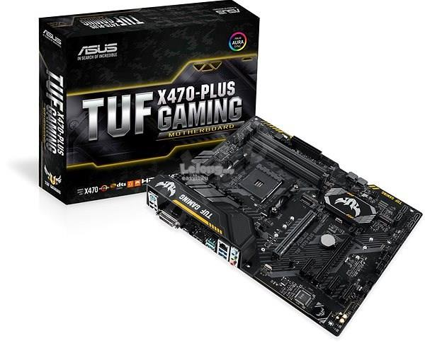 ASUS TUF X470 PLUS GAMING SOCKET AM4 MAINBOARD