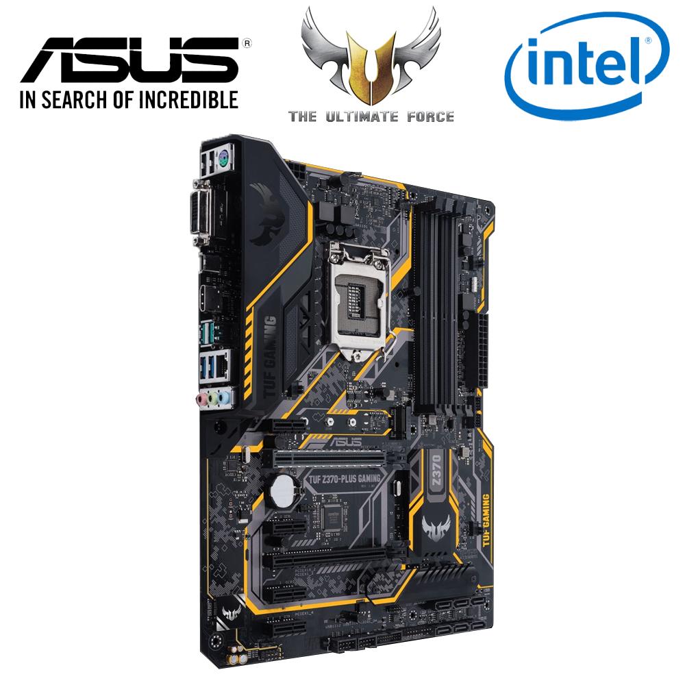 Asus TUF Z370-Plus Gaming Motherboard (Intel)
