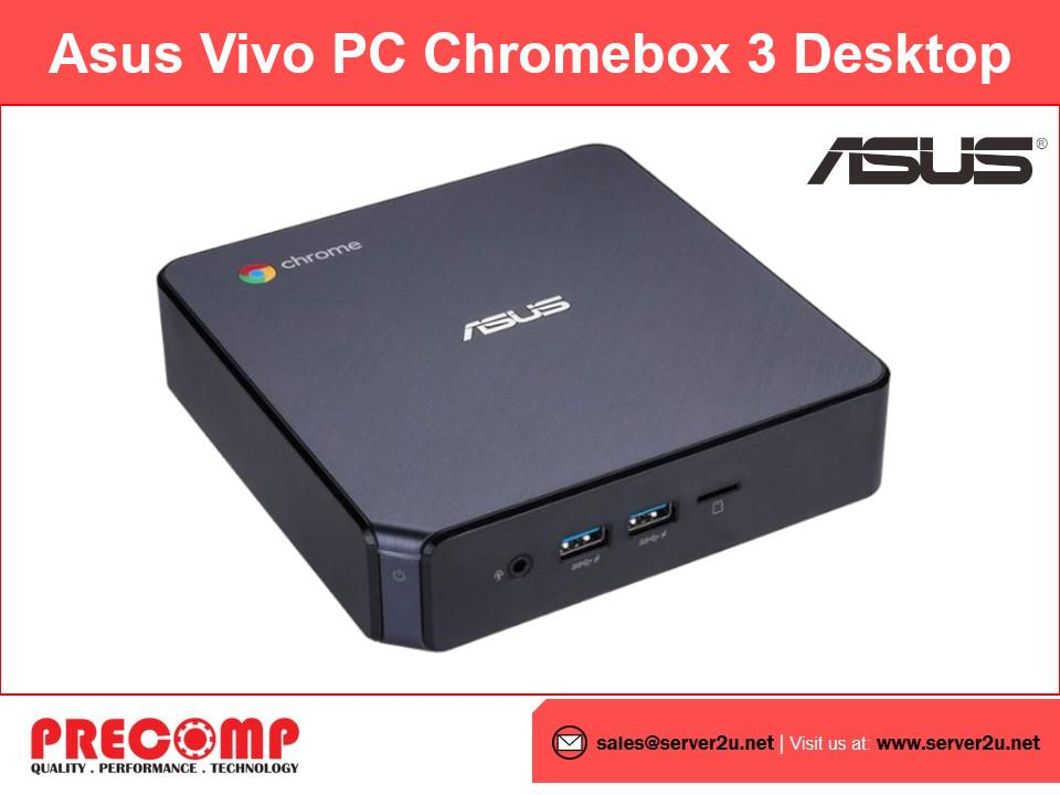 Asus Vivo PC Chromebox 3 Desktop (i7-8550U.4G.32G) (N7110U)