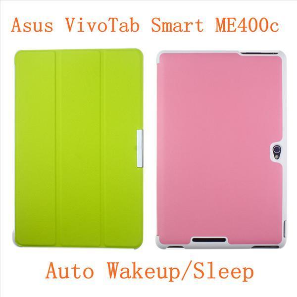 Asus VivoTab Smart ME400C ME400 KOX AutoWakeup Stand Pouch Case Cover