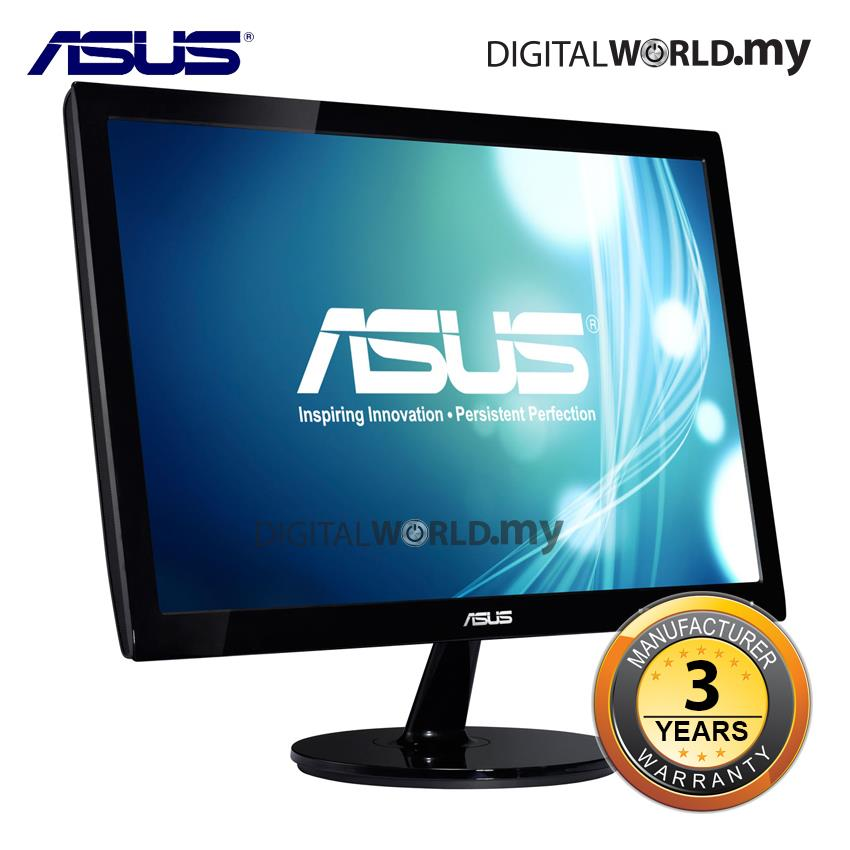 "Asus VS197DE 18.5"" Wide Led Monitor"
