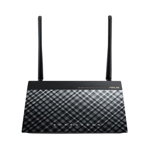 Asus Wireless ADSL modem router USB applications (DSL-N12U D1)