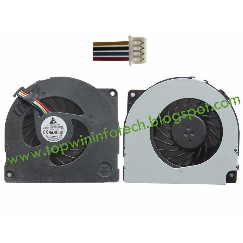 ASUS X42J K42JC K42JR X42E K42J P42 COOLING FAN