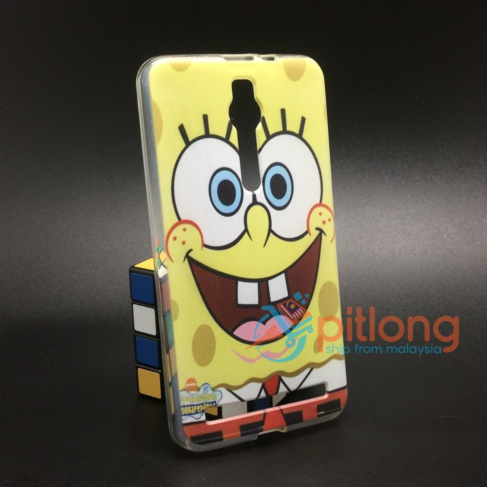 ASUS ZENFONE 2 5.5 ZE550ML ZE551ML Z008D Z00AD CARTOON SOFT TPU CASE C