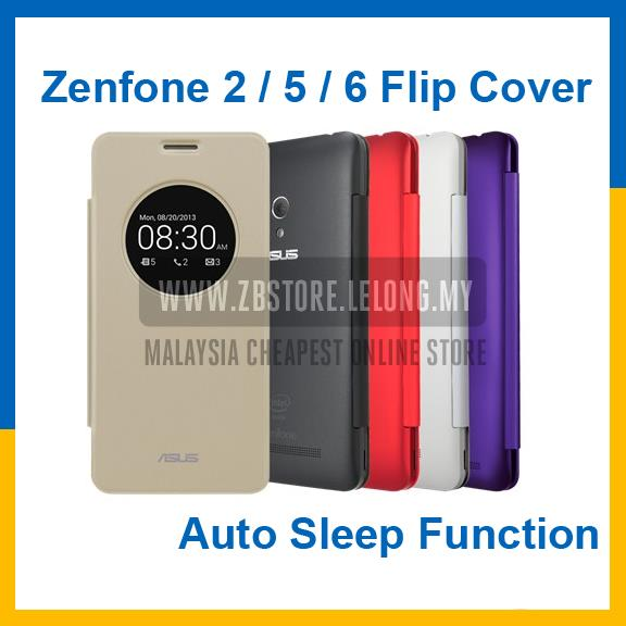 new concept a463c 1e5d0 Asus Zenfone 2 5 6 ZE550ML ZE551ML View Flip Cover Case Casing