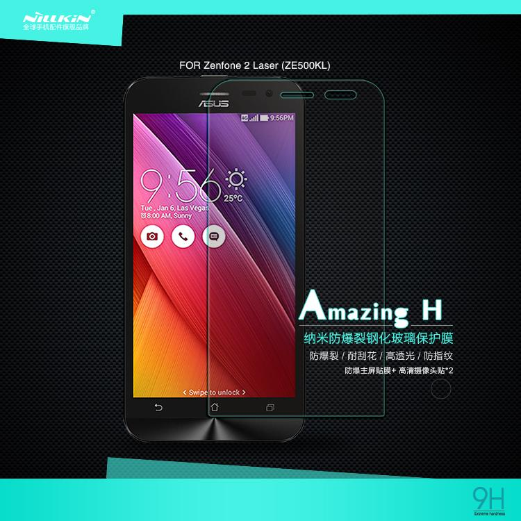 Asus Zenfone 2 Laser ZE500KL Nillkin Anti Explosion H Tempered Glass