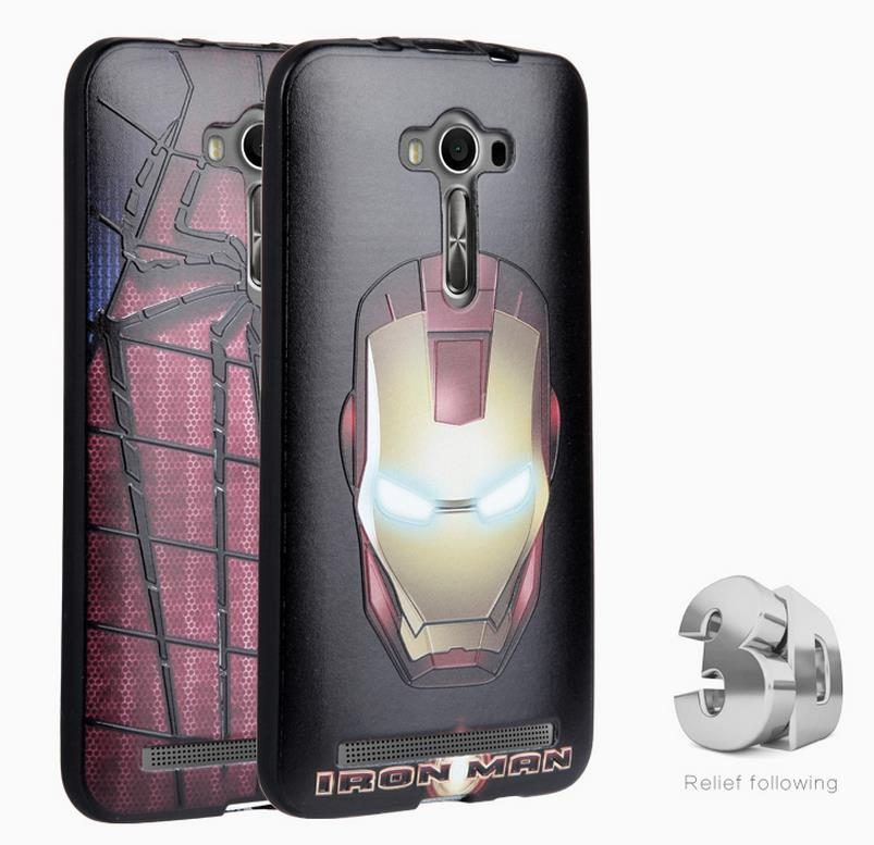 brand new 91c7c fde7d Asus Zenfone 2 Laser ZE550KL 5.5' 3D Silicone Case Cover Casing + Gift
