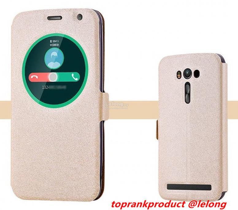 reputable site bba74 bb8d3 Asus Zenfone 2 Laser ZE550KL Z00LD Flip Smart Case Cover Casing