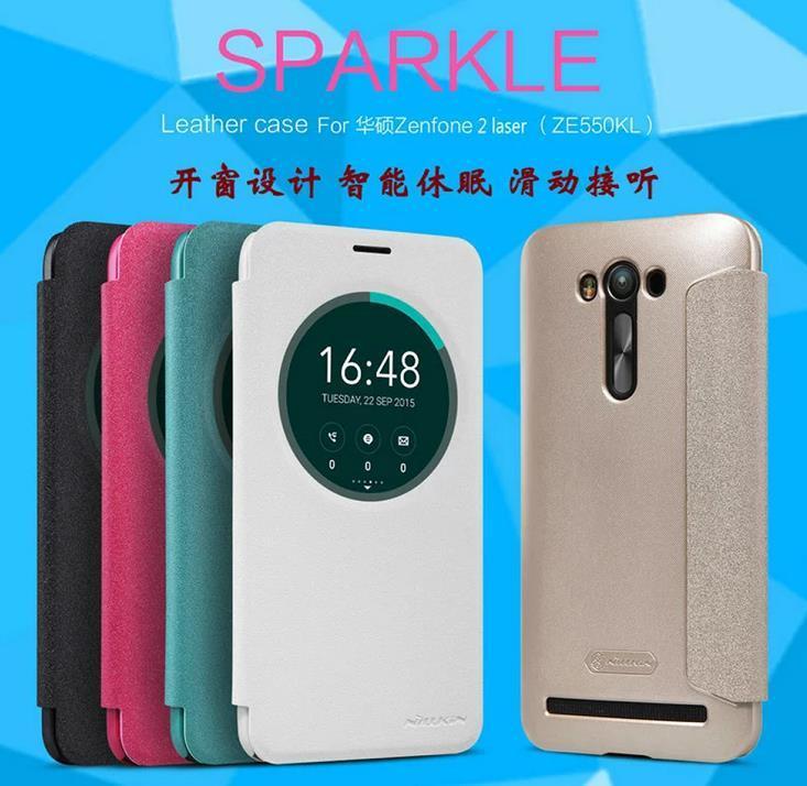 Asus Zenfone 2 Laser ZE550KL ZE551KL 55 Flip Smart Case Cover Casing