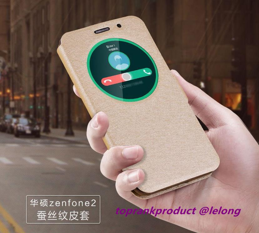 the best attitude b6df3 2f1fb Asus Zenfone 2 ZE550ML ZE551ML 5.5' Flip Smart Case Cover Casing