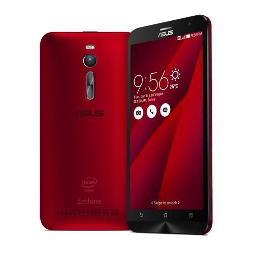 ASUS ZenFone 2 (ZE551ML) Red (FOC Transcend 8GB Micro SD Memory Card)