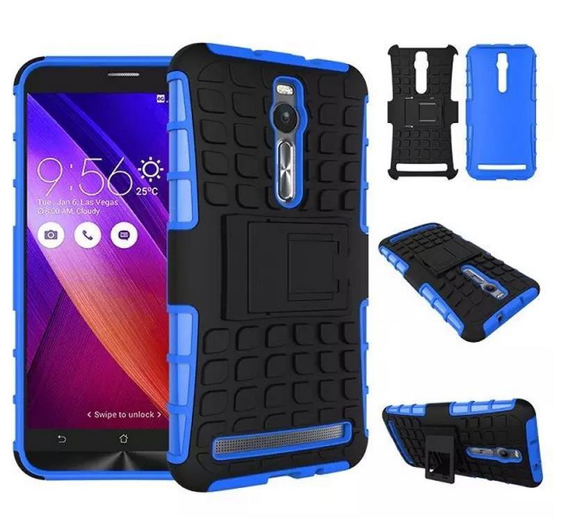Asus Zenfone 2 ZE551ML ZE550ML 5.5' Armor Stand Back Case Cover Casing