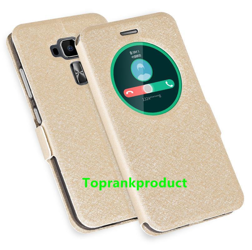 huge discount f844e 24032 Asus ZenFone 3 ‏ZE520KL ZE552KL Flip Smart Case Cover Casing + G..