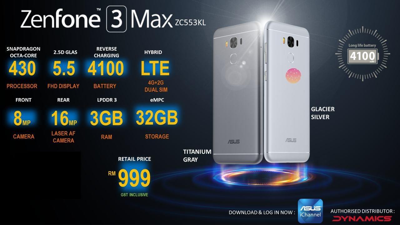 Asus Zenfone 3 Max 52 Amp 55 Zen End 6 3 2017 1024 AM