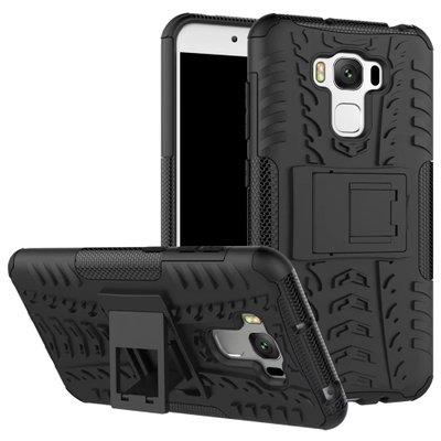 ASUS ZENFONE 3 MAX ZC553KL TYRE DESIGN BACK CASE WITH STAND