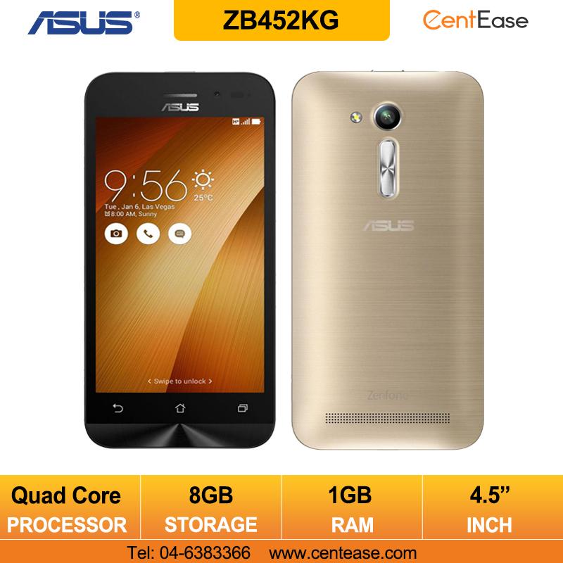Asus Zenfone Go 45Inch ZB452KG Smartphone Quad Core 1GB 8GB Gold