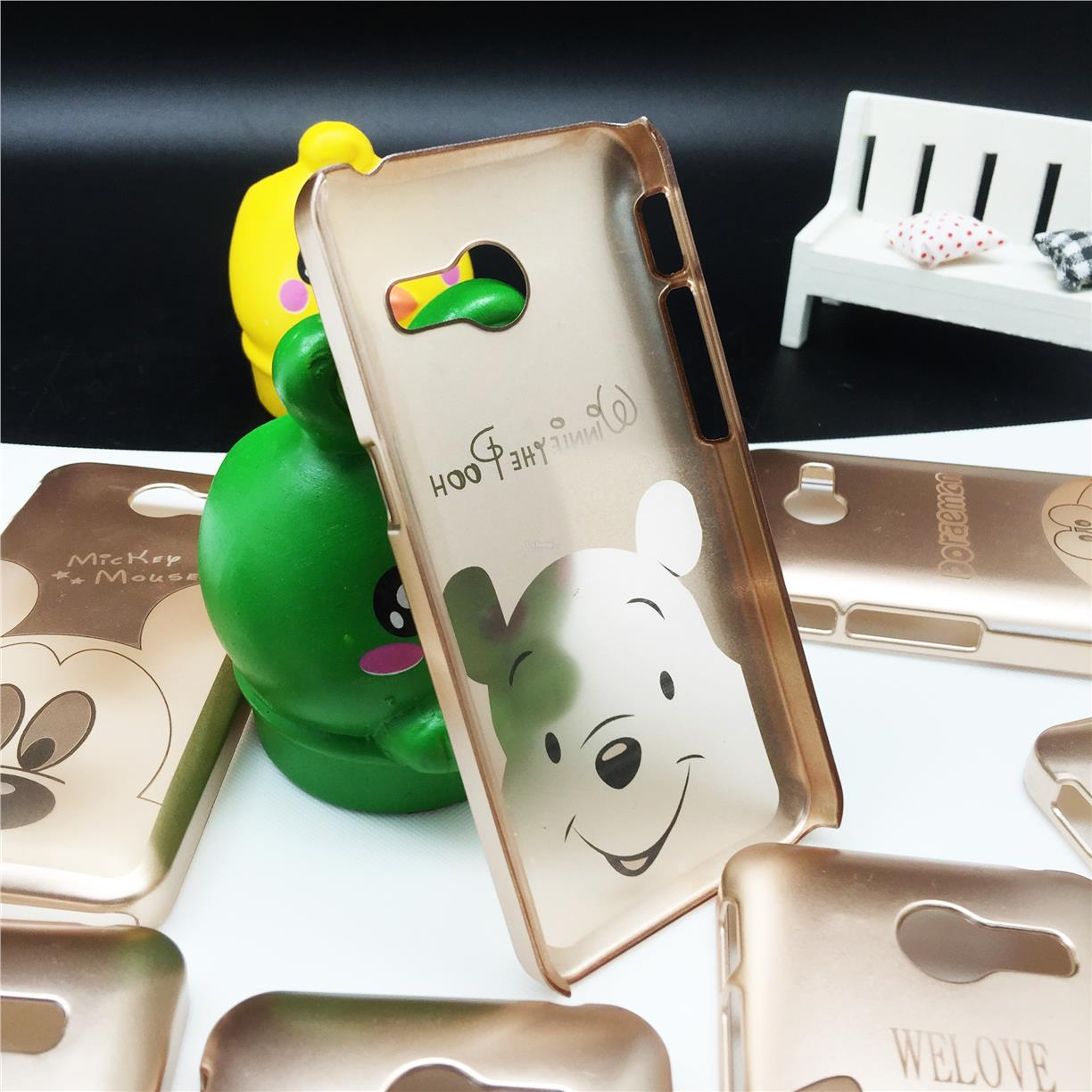 Asus Zenfone 4 Cartoon Disney Gold Case