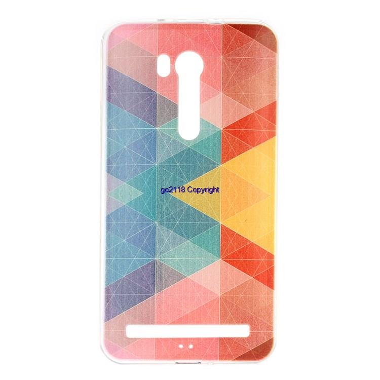 Asus Zenfone Go 5.5 ZB551KL TPU Silicone Soft Back Cover Casin+Lanyard
