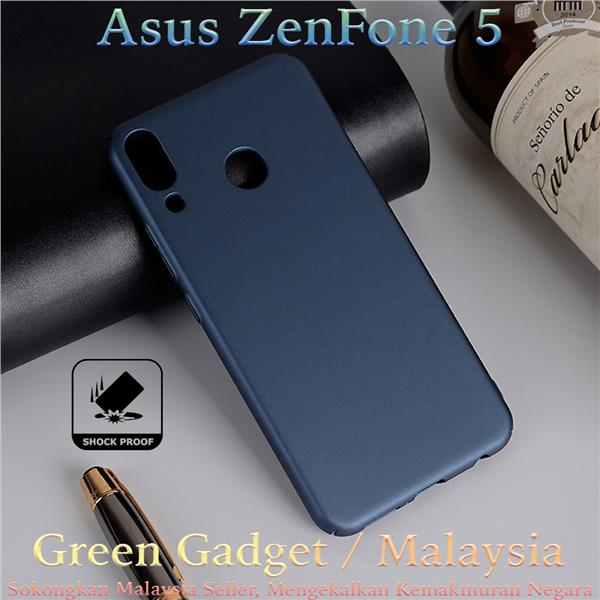 Asus ZenFone 5 ZE620KL Case Cover Thin Fit Hard (Blue)