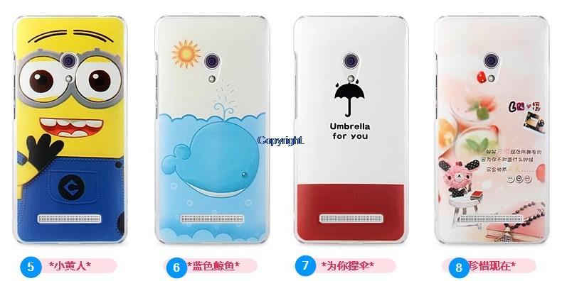 asus Zenfone 5 zenfone5 4G Back Cover Casing Case flip cartoon