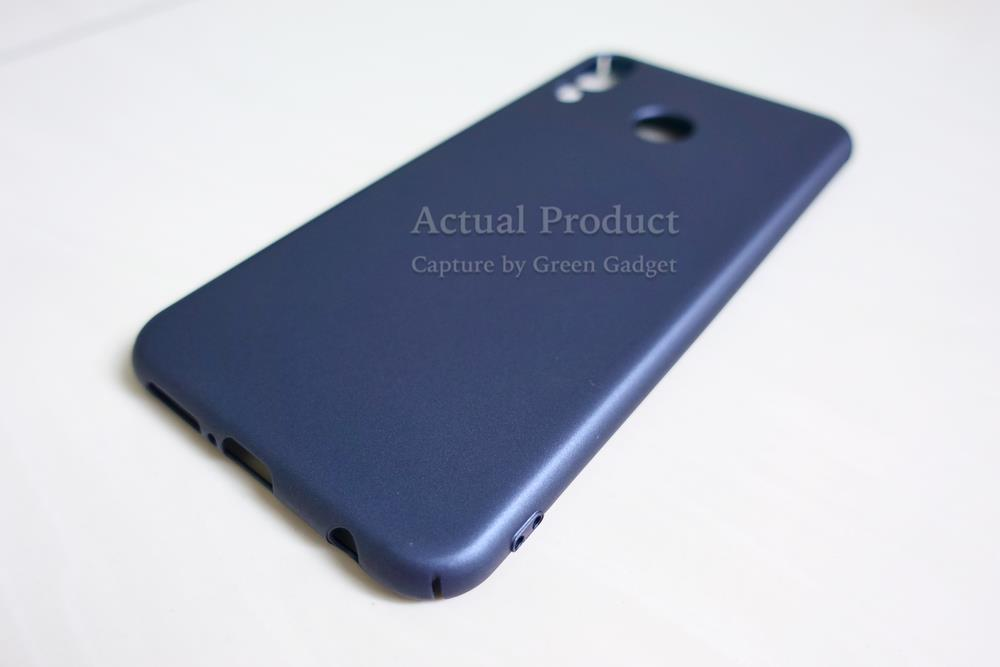 Asus ZenFone 5z ZS620KL Case Cover Thin Fit Hard (Blue)